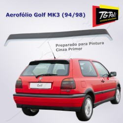 Aerofólio Golf Alemão MK3 94/98 sem Brake Light - PRIMER CINZA